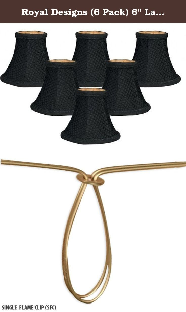 Royal Designs 6 Pack 6 Lace Bell Black Chandelier Lamp Shade 3 X 6 X 5 Dcs 843blk 6 This Shade Chandelier Lamp Shades Chandelier Shades Black Chandelier