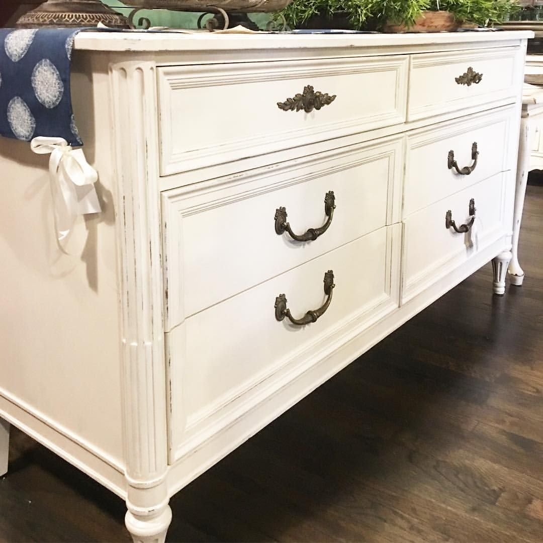 Hendredon dresser painted with Amy Howard One Step paint