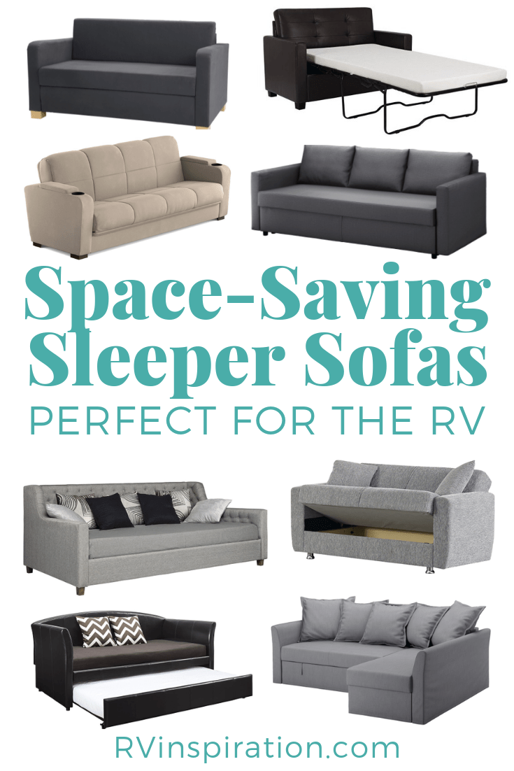 11 Space Saving Sleeper Sofas Furniture For Rvs Rv Inspiration Sleeper Sofa Comfortable Sofas For Small Spaces Small Sleeper Sofa