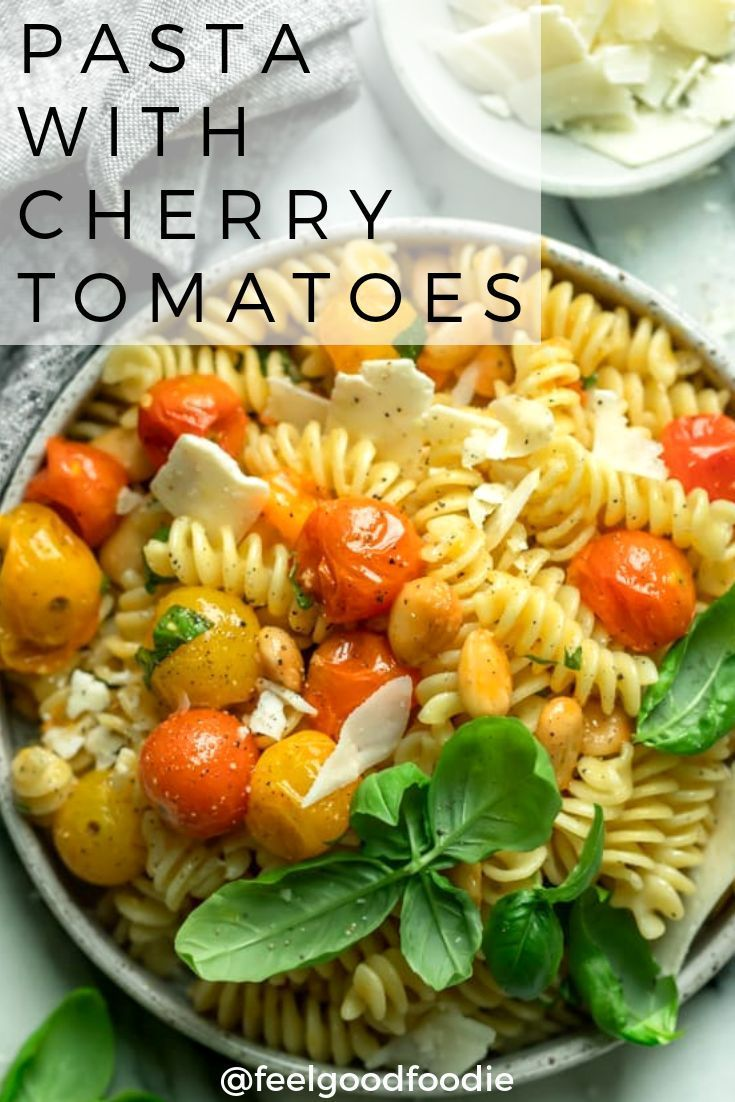 Pasta with Cherry Tomatoes images