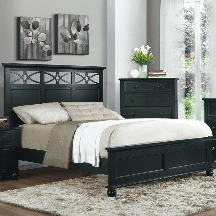 Woodhaven Hill Sanibel Panel Bed U0026 Reviews   Wayfair