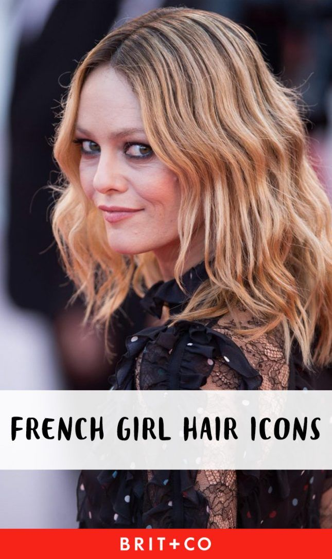These French Girl Icons Started Some Of Your Favorite Hair Trends