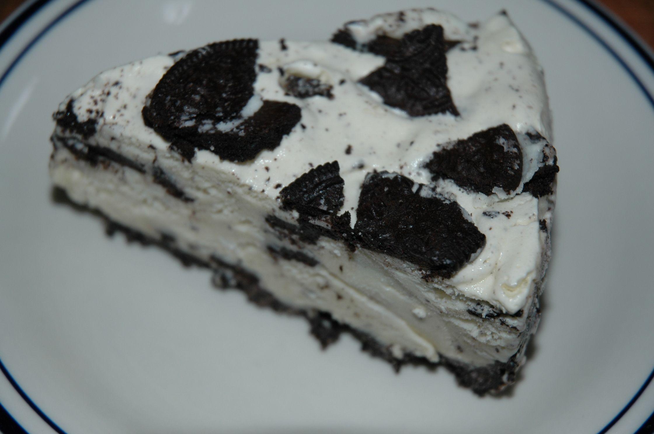 Double stuff oreo ice cream cake oreo ice cream cake