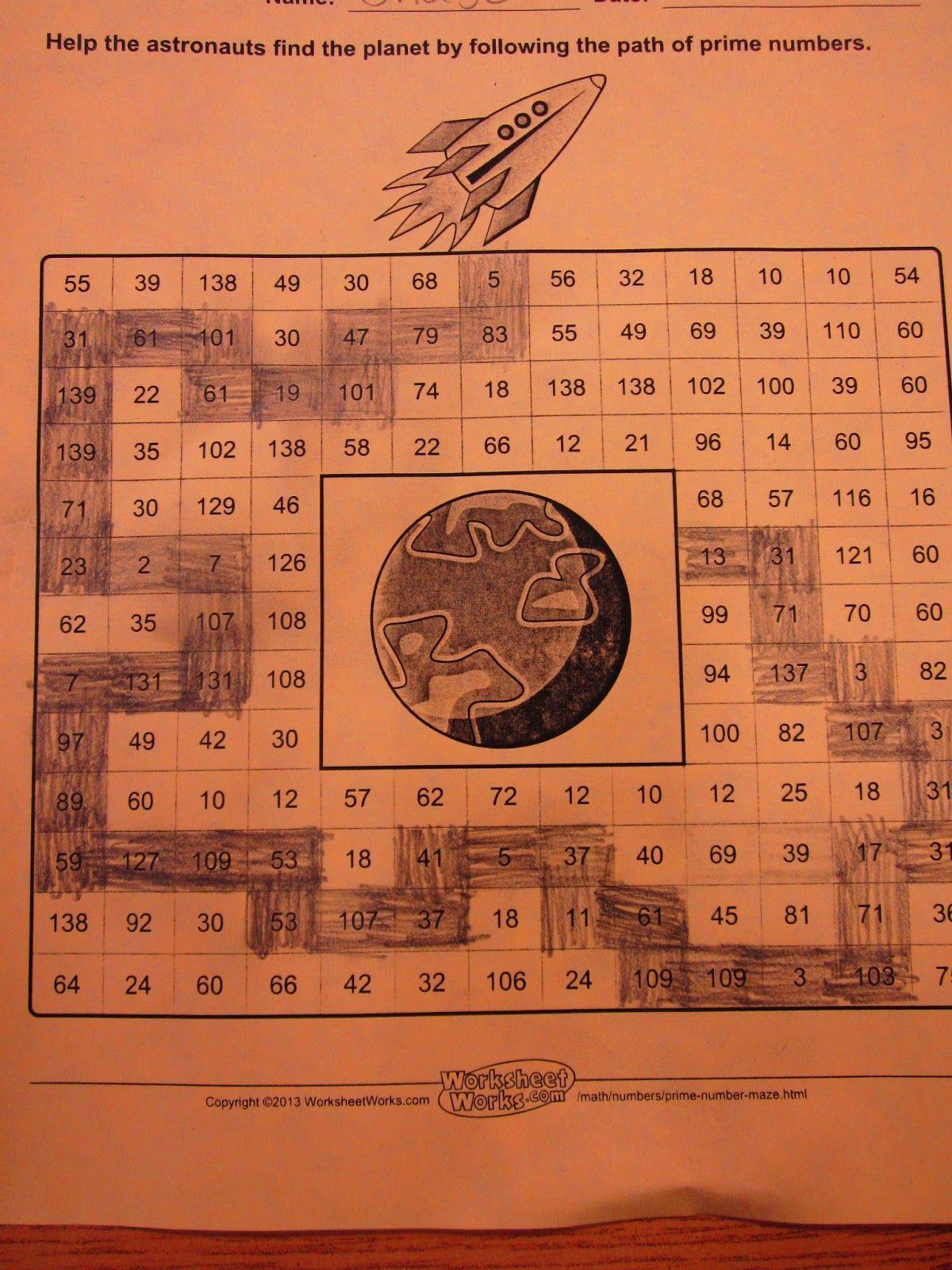 worksheet Prime And Composite Worksheet prime and composite numbers maths rundes room numbers