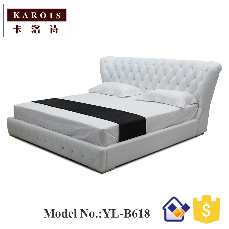 New Type Bed 2017hot Sale Indoor Chaise Lounge Twin Bed Sommier
