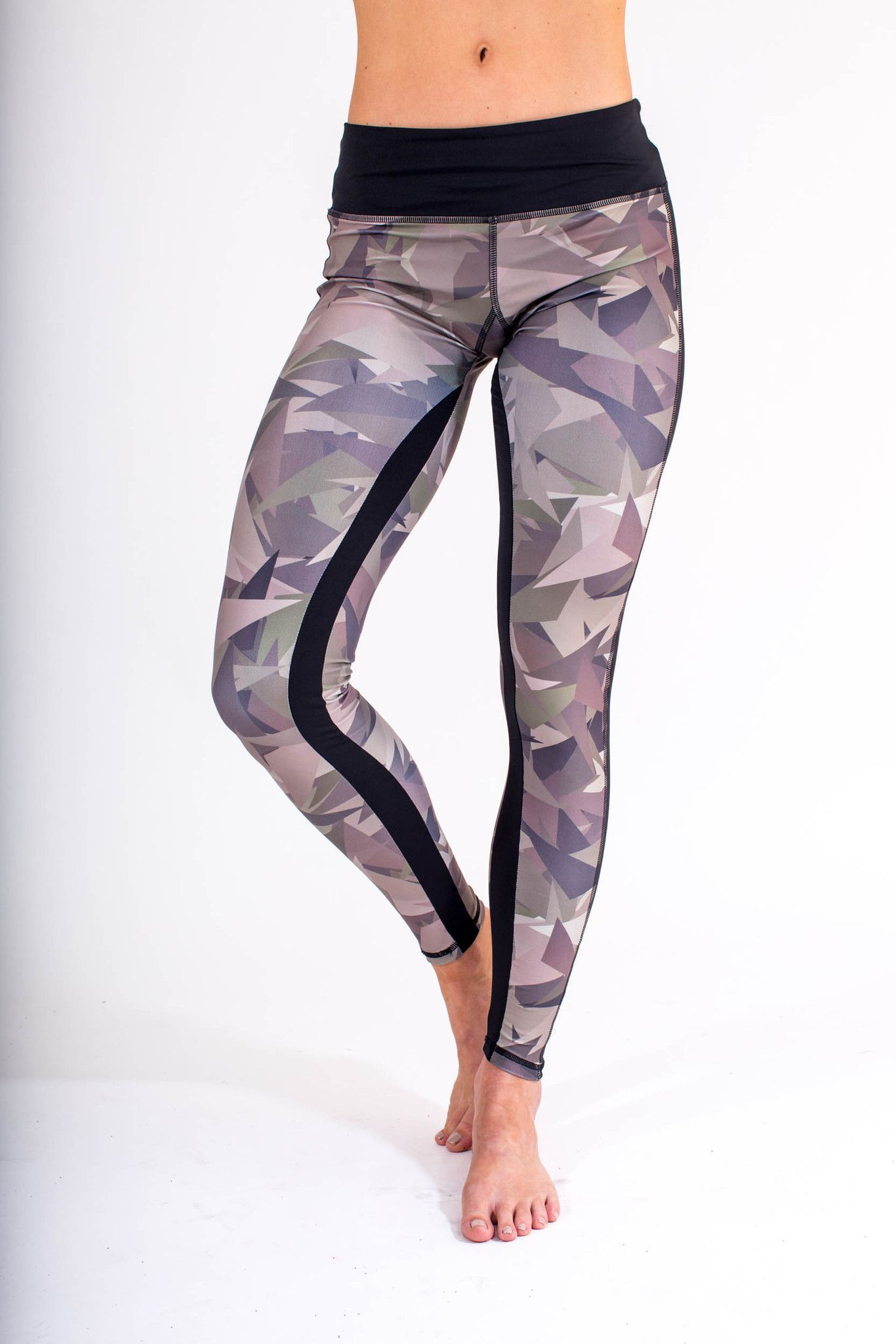 Hip Camo Full Length Leggings