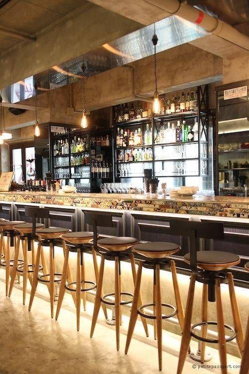 Sillas altas para el bar bares pinterest bar moderno - Sillas altas bar ...