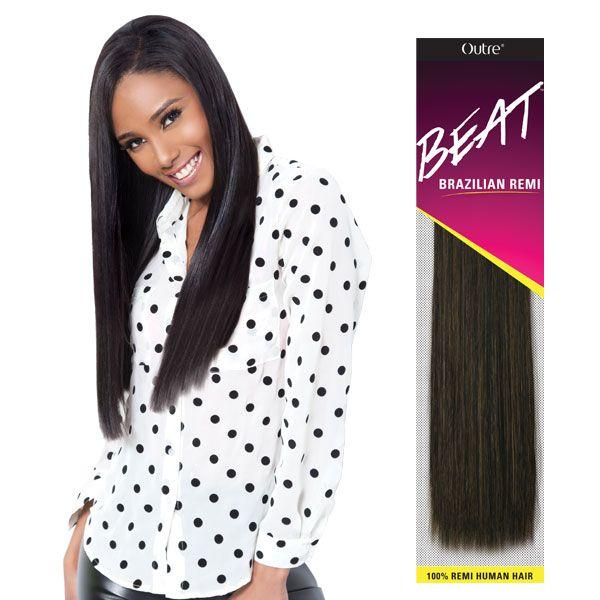 Outre 100 Remy Human Hair Weaving Beat Brazilian Remi Remy Hair