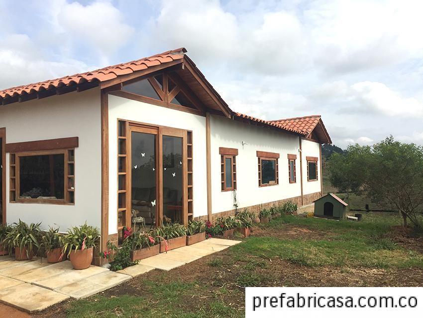 Cabanas prefabricadas para finca casa de campo for Casas de campo prefabricadas