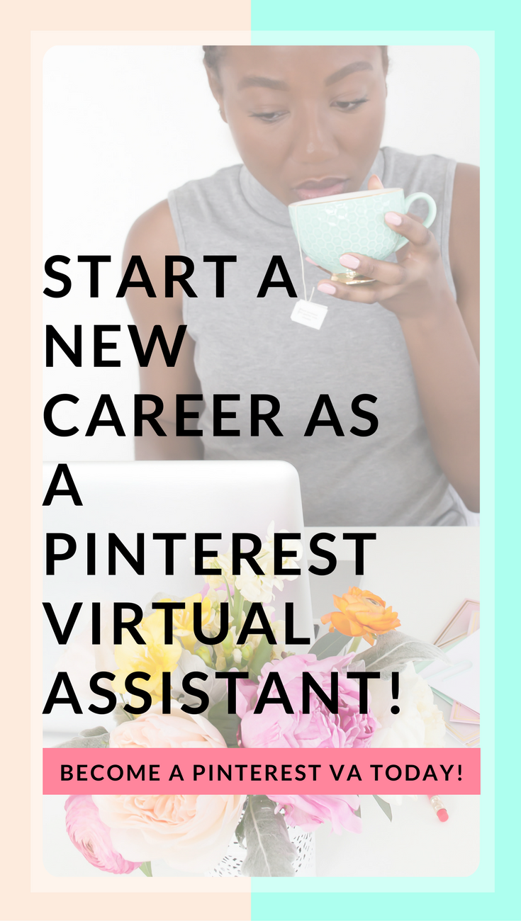 BECOME A PINTEREST VA TODAY! | Looking for side hustle ideas and ...
