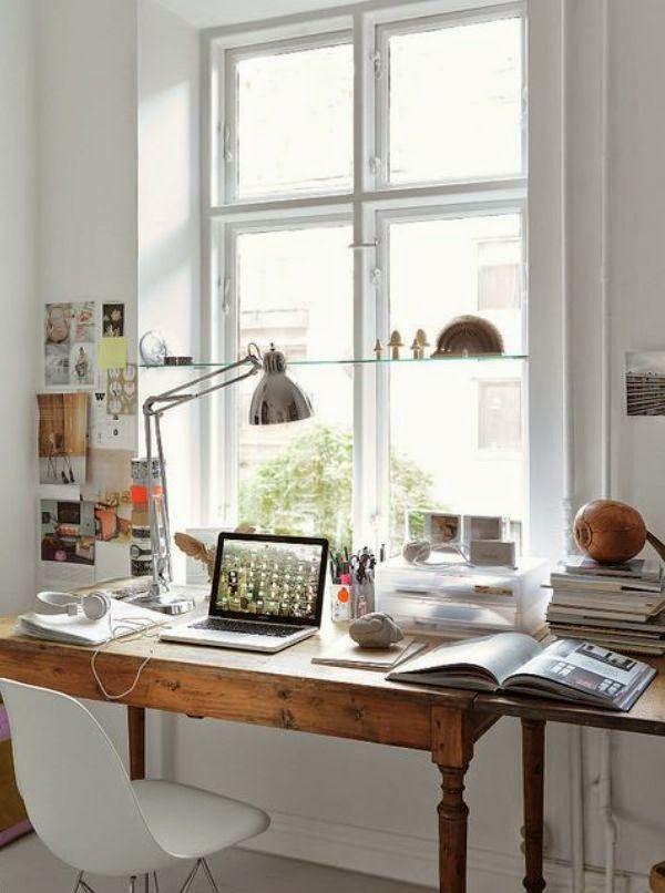 Virlova Interiorismo: [Decotips] La oficina en casa, diseña tu rincón de trabajo