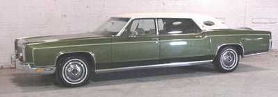 1972 Lincoln Continental Towncar Limousine By Andy Hotton Lincolns