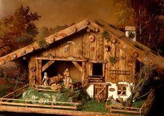 Krippen - Krippe,Weihnachtskrippe ,100 % Handarbeit - ein Designerstück von Sternschnuppe1706 bei DaWanda