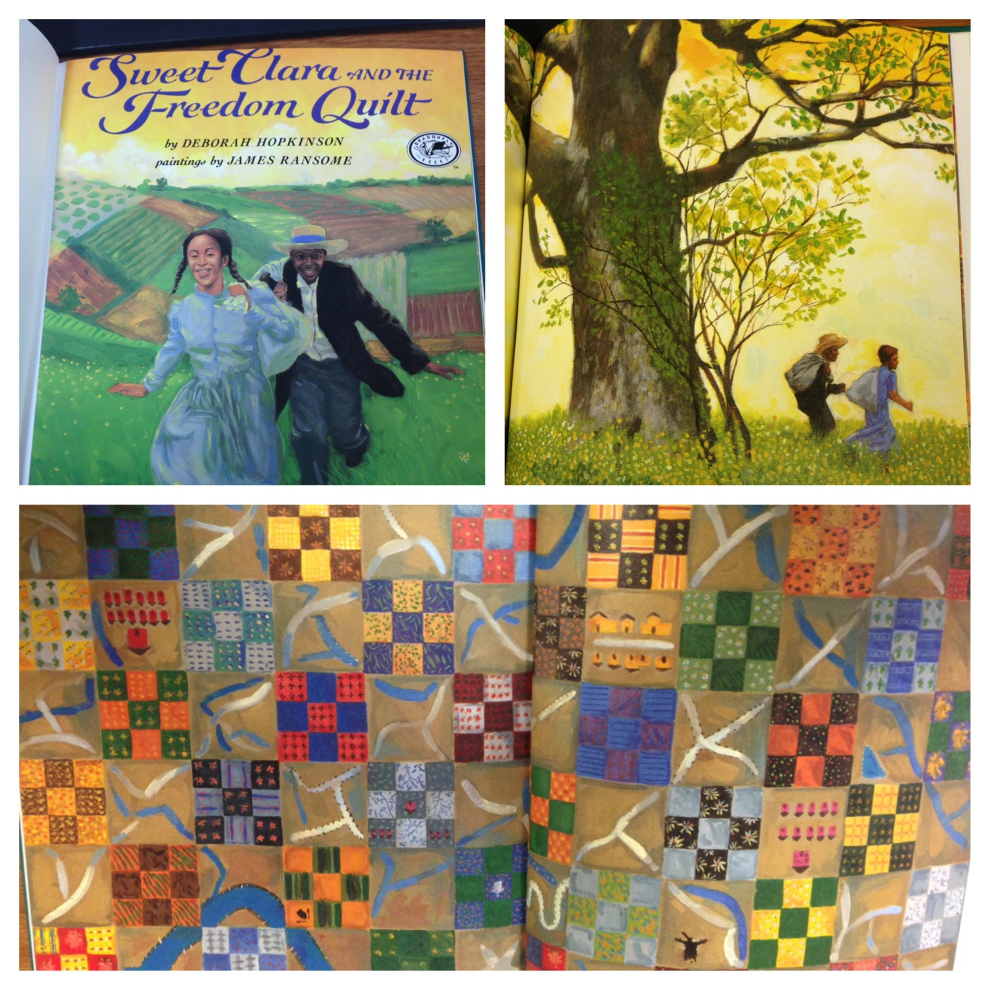Sweet Clara And The Freedom Quilt By Deborah Hopkinson Grade Second Grade Standard 8 2 2 D Identify Ho Freedom Quilt Children S Literature Work Conditions