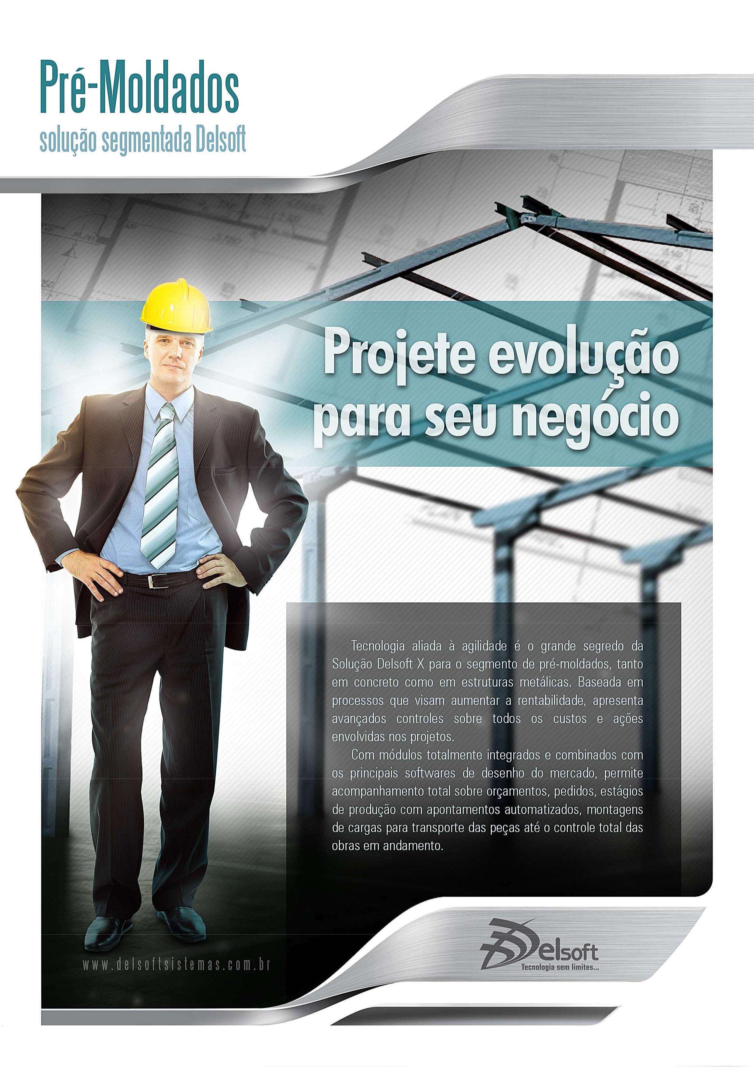 Delsoft X - Solução para o setor de Pré-Moldados