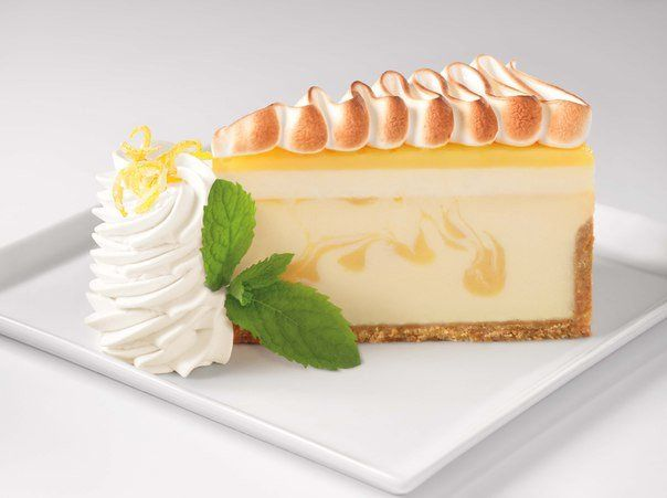 Classic lemon cheesecake