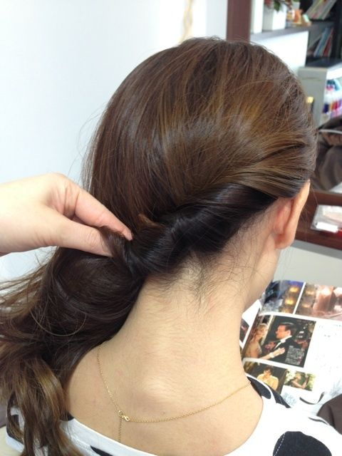 ワンサイドヘア