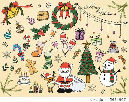 ギャラリーイラスト クリスマス 簡単 イラスト クリスマス イラスト 手書き クリスマス イラスト かわいい クリスマス グラフィック