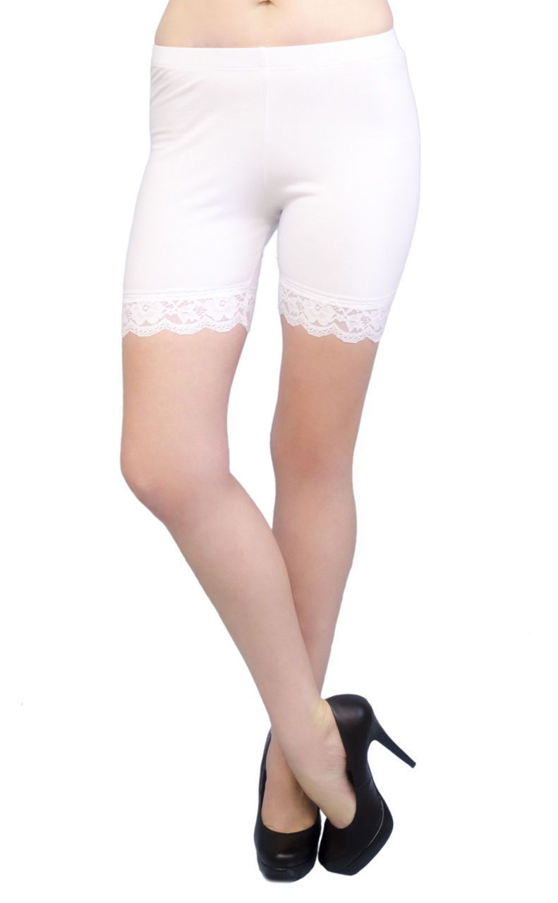 a2073317d2703 Vivian S Fashions Legging Shorts - Cotton
