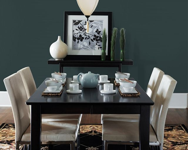 Our Dining Room Color Cascades By Sherwin Williams For The Home Pintere