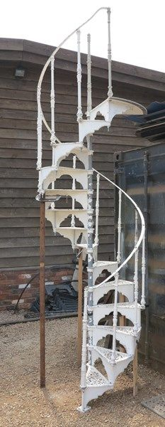 Best Reclaimed Hayward Brothers Cast Iron Spiral Staircase 400 x 300