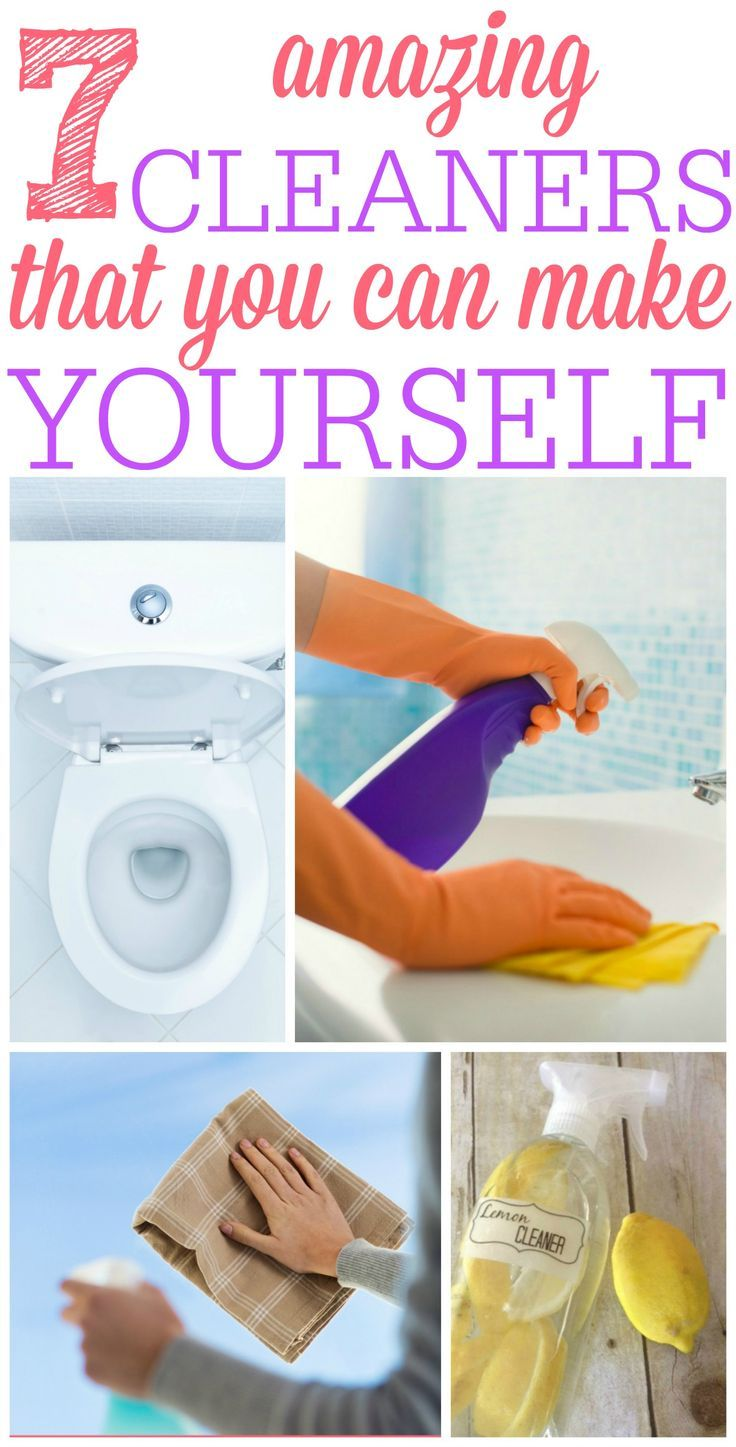 Ditch The Chemical Cleaners And Check Out These 7 Amazing Cleaners That You Can Make Yourself They Work Cleaning Hacks Diy Cleaning Products Cleaners Homemade