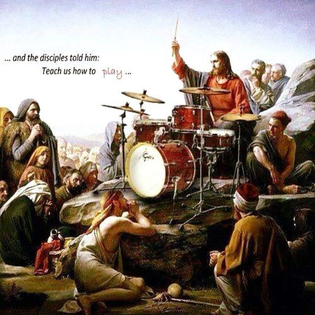 Philip Ellis On Instagram Happy Easter Heisrisen Heisrisenindeed Drums Jesus Drums Drum Tattoo Percussion