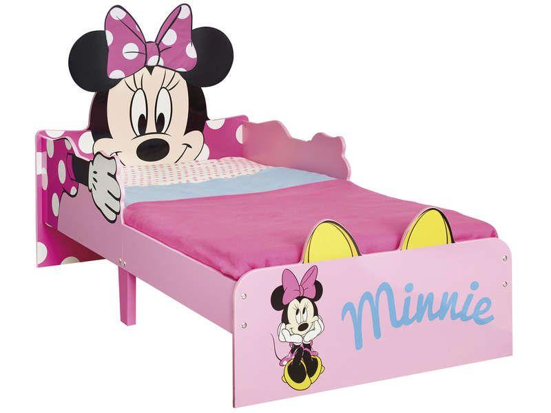 lit enfant 70x140 cm minnie mouse lit enfant conforama conforama et minnie mouse. Black Bedroom Furniture Sets. Home Design Ideas