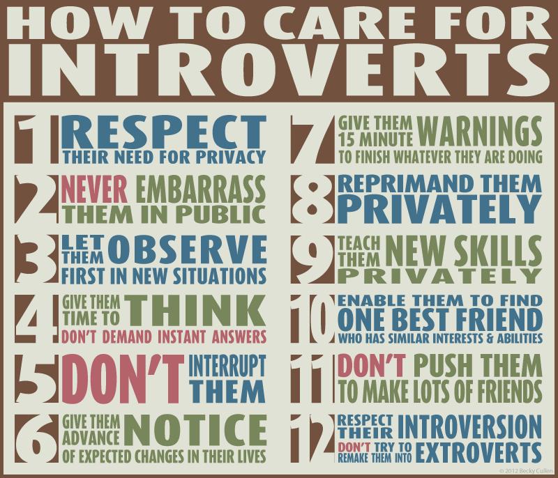 Tips for an extrovert dating an introvert