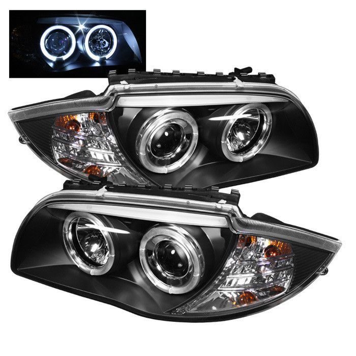 Spyder Bmw E87 1 Series 08 11 Projector Headlights Led Halo