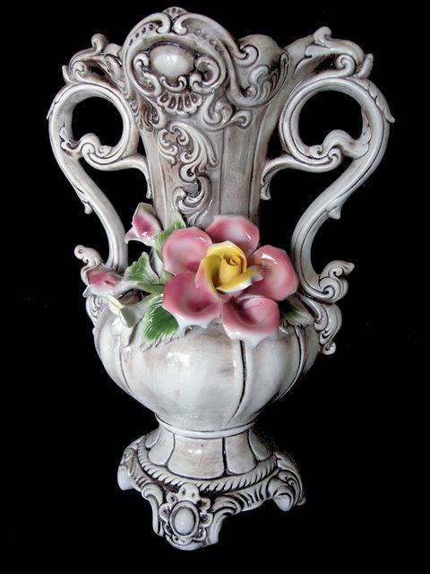 Capodimonte Vase Capodimonte Pinterest Porcelain Mantel