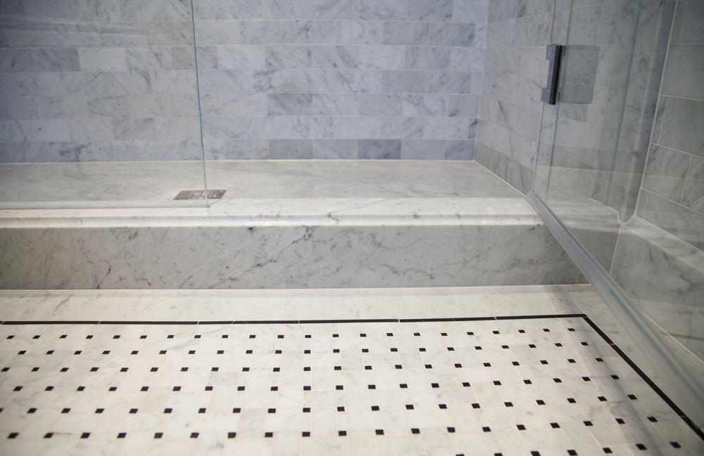 Master Bath Shower Curb Pre War Nyc Residence Master Bath Shower Shower Curb Master Bath Tile