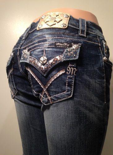 NWT JP5002B55 Miss Me Jeans Boot Cut Leg Size 29