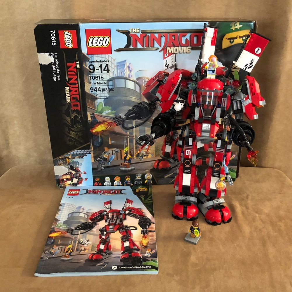 70615 LEGO Complete The Ninjago Movie Fire Mech box