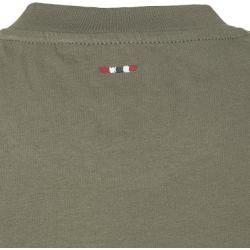 Photo of Napapijri Herren Tshirt, Baumwolle, khaki grün Napapijri