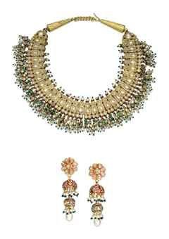 Christies Auctions Antique Indian Diamond Pearl Emerald Enamel Jewellery 19 761 24 152 Enamel Jewelry Royal Jewelry Bollywood Jewelry