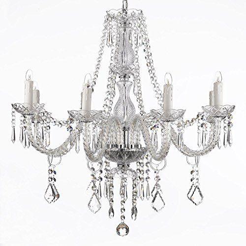 Saint Mossi Moderne Design K9 Cristal Gouttelette Lustre Éclairage - lustre pour salle a manger