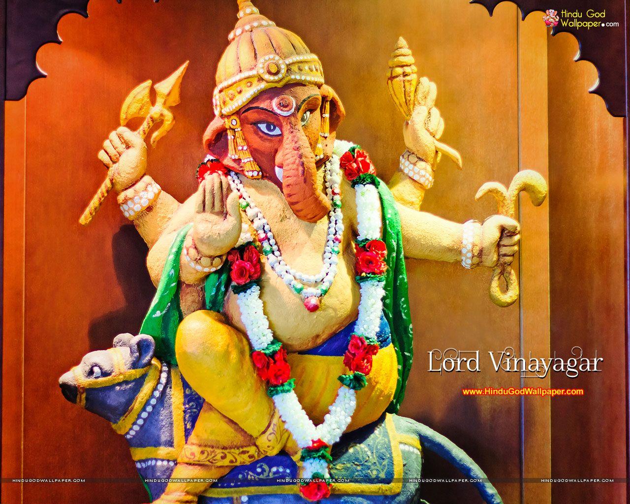 Hd wallpaper vinayagar - Lord Vinayagar Wallpapers Pictures Images Download