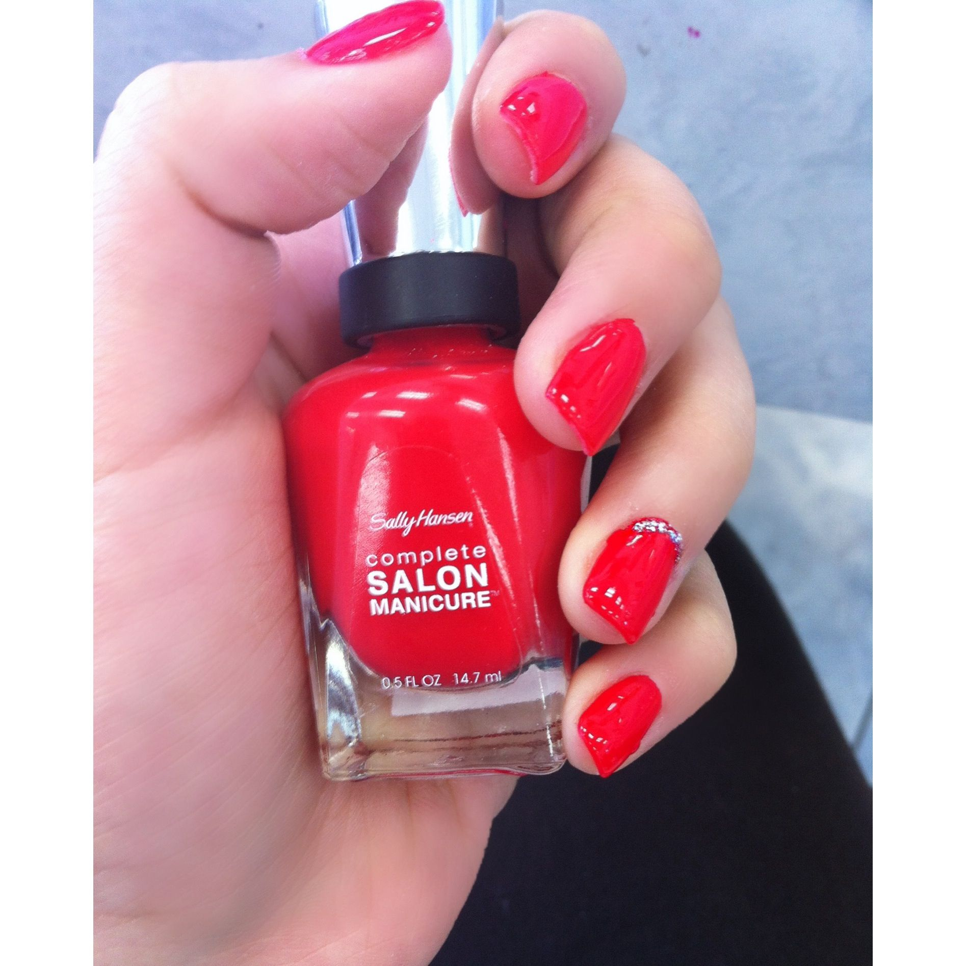Red Nail Polish! In Love with this color ❤️