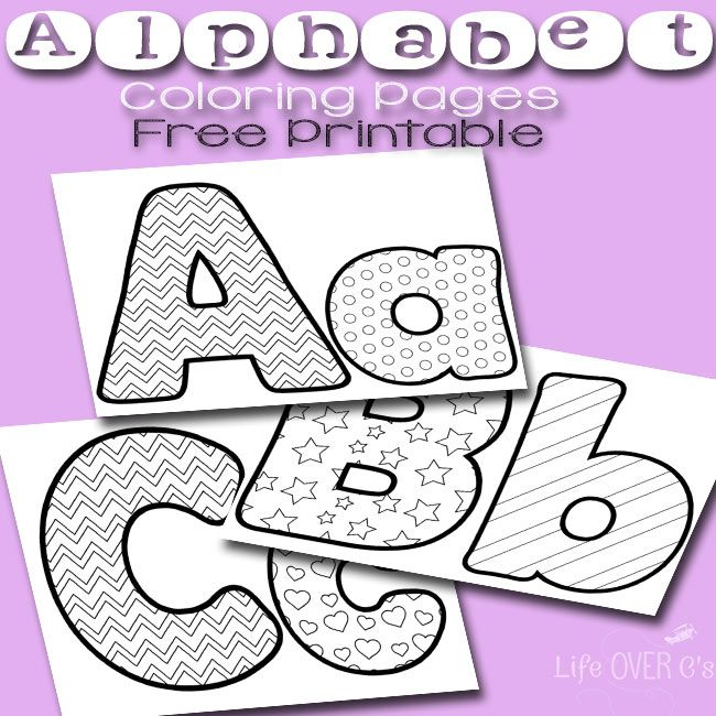 Free Printable Alphabet Coloring Pages For Preschoolers Alphabet Coloring Pages Alphabet Coloring Alphabet Printables