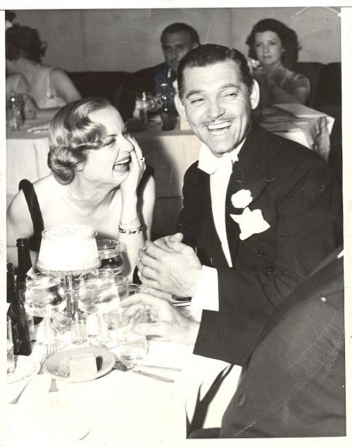 I dont know if anyone was ever more in love than Carole Lombard and Clark Gable