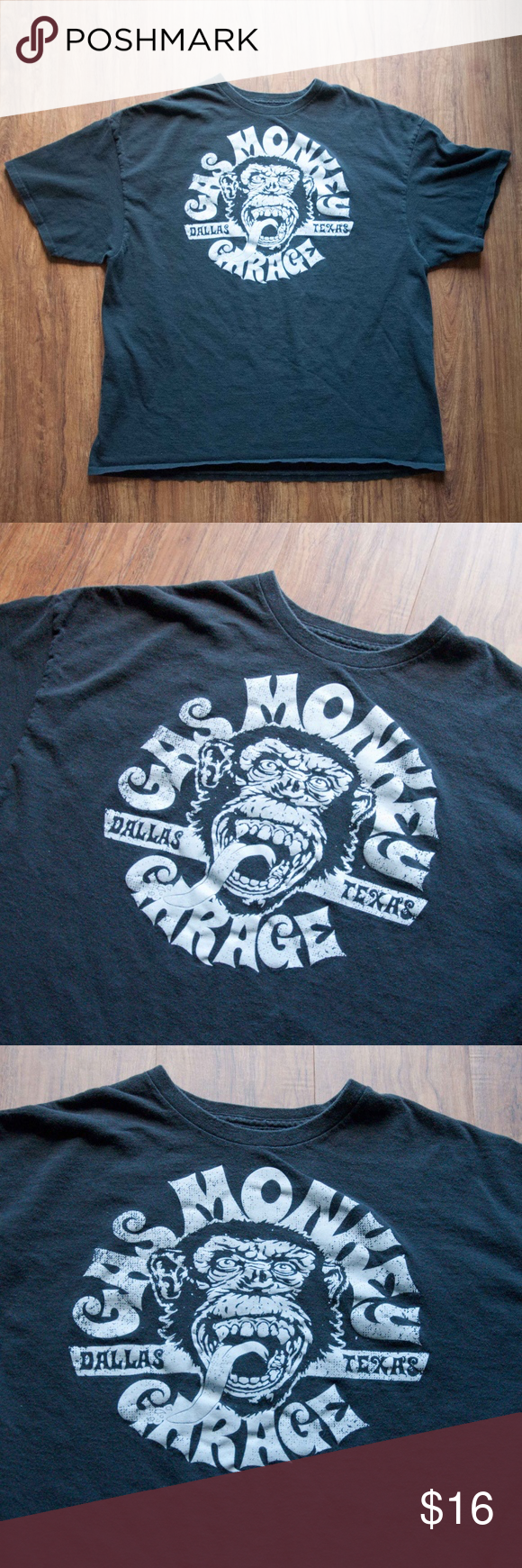 Gas Monkey Garage Dallas Texas Graphic T-shirt XXL Gas Monkey Garage Dallas Texas black graphic t-shirt with white logo.  Nice condition.  Size XXL. Gas Monkey Shirts Tees - Short Sleeve #gasmonkeygarage Gas Monkey Garage Dallas Texas Graphic T-shirt XXL Gas Monkey Garage Dallas Texas black graphic t-shirt with white logo.  Nice condition.  Size XXL. Gas Monkey Shirts Tees - Short Sleeve #gasmonkeygarage Gas Monkey Garage Dallas Texas Graphic T-shirt XXL Gas Monkey Garage Dallas Texas black grap #gasmonkeygarage