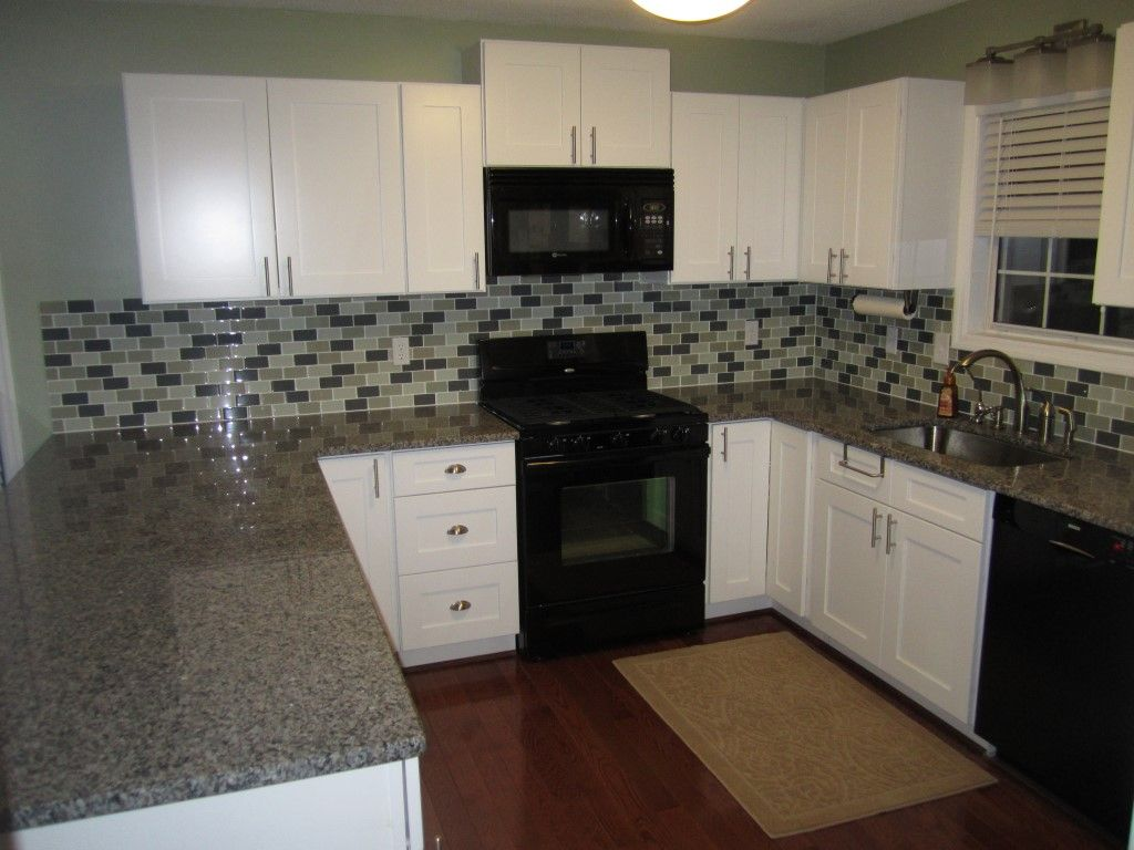 White Shaker Kitchen Cabinets Combination For Style Homecrest