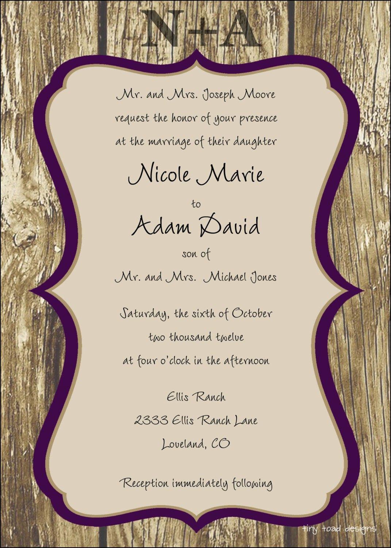Google Wedding Invitation Templates | Wedding Ideas | Pinterest ...