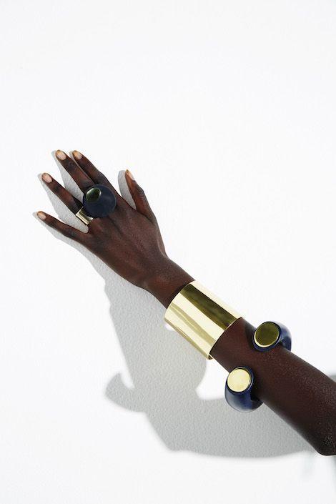 Photo of ColourBlock 2016 – Brass Cuff
