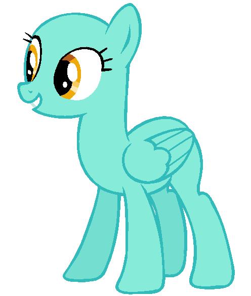 Mlp Angry Pegasus Base Flying