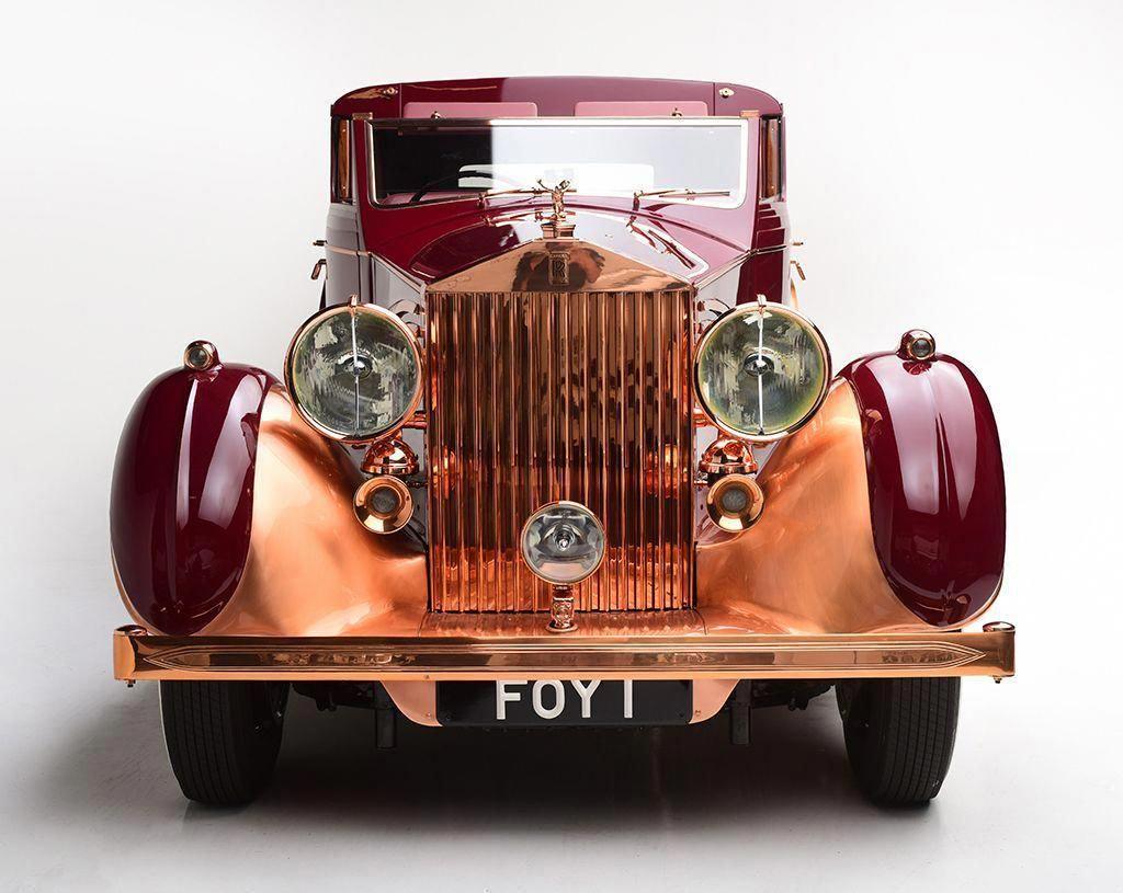 1937 Rolls Royce Phantom Iii Sedanca De Ville Front
