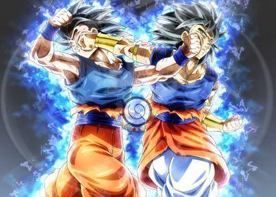 Black Goku Goku Vegeta Instinct Ultra Dragonball Super Evolution Drago