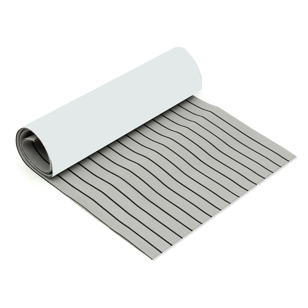 Us 51 50 32 900mmx2400mmx5 5mm Light Grey And Black Eva Foam Faux Teak Sheet Boat Yacht Synthetic Teak Decking Mechanical Parts From Tools Industrial Scient Yacht Flooring Yacht Teak