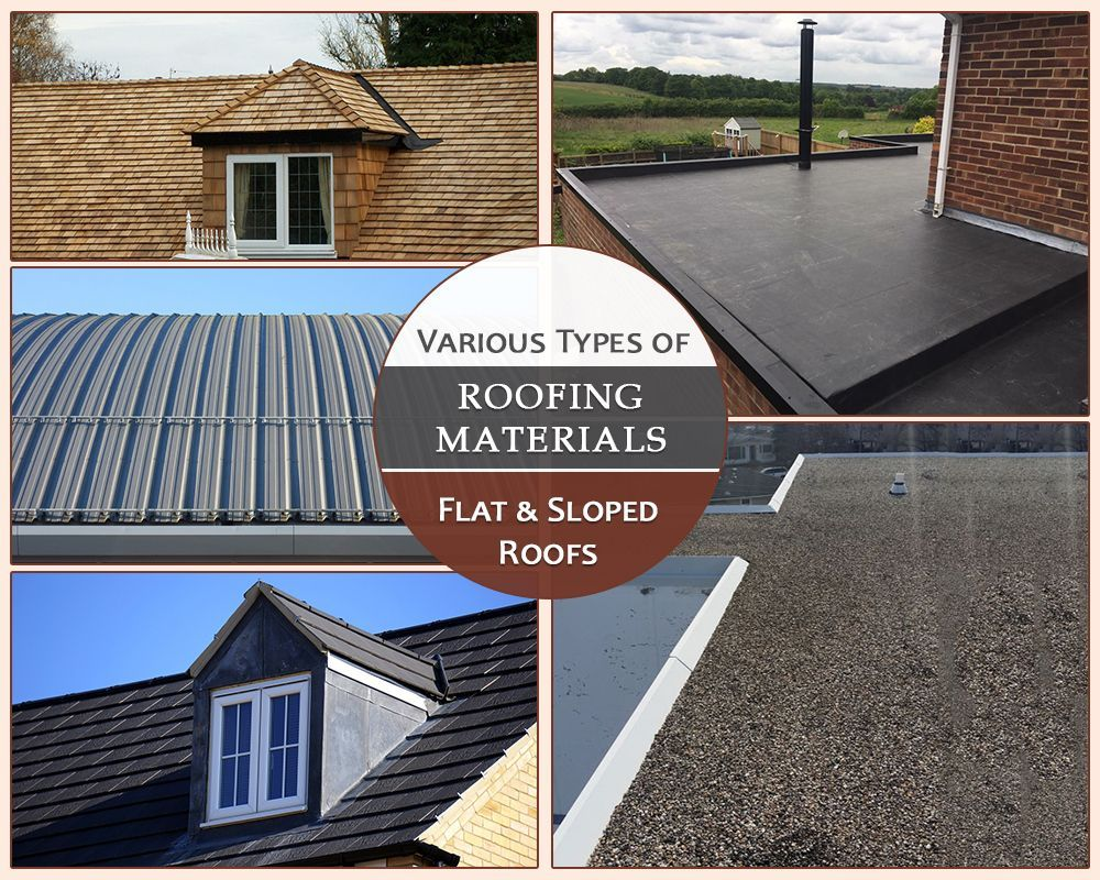 Different Types Of Roofing Materials In 2020 Types Of Roofing Materials Roofing Roofing Materials